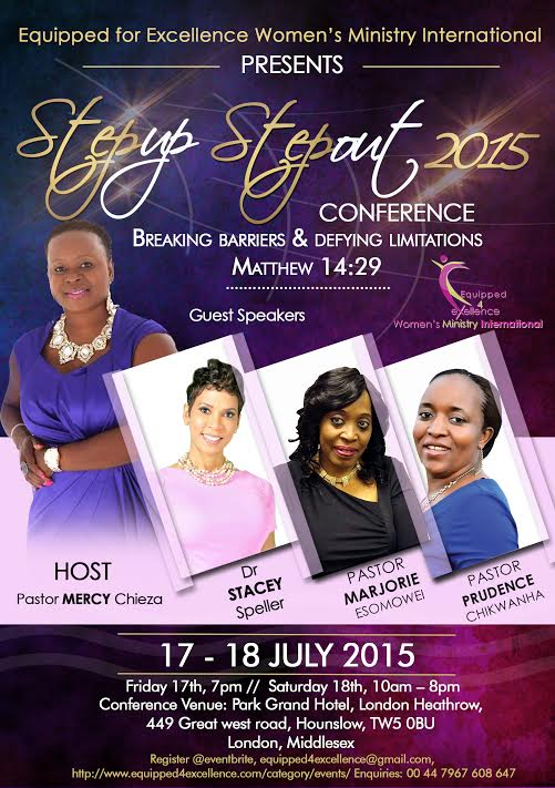 Step Up Step Out 2015 Women S Conference Equipped For