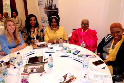Dr. Mercy at Zim Women in DUBAI